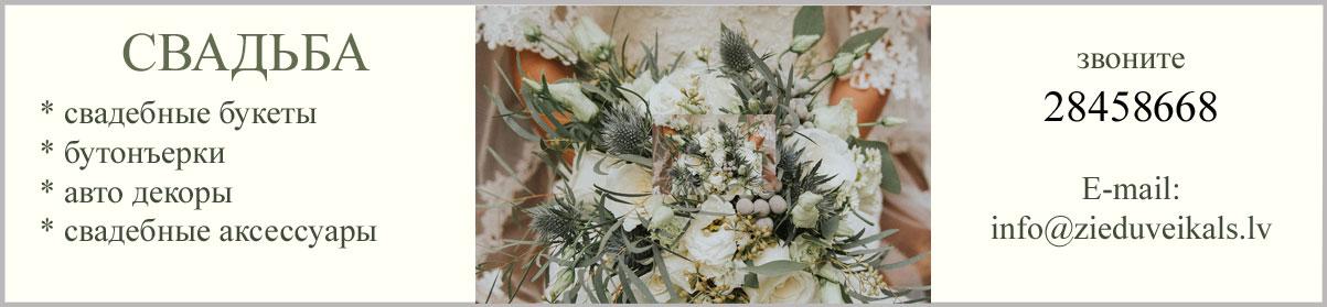 Свадебные цветы. Букет невесты крупным планом.