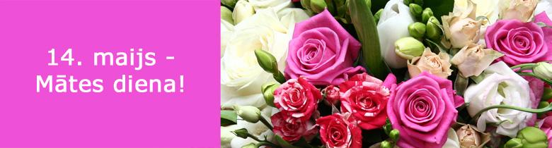 Ziedu piegāde Mātes dienā!
