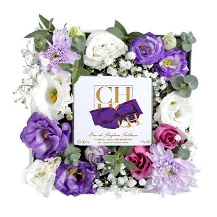 Ziedi un smaržas Carolina Herrera CH Eau De Parfum Sublime 30 ml