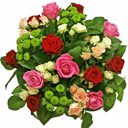 Ziedu pušķis: Rožu fantāzija