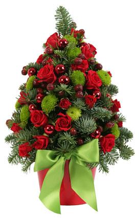 Christmas Arrangement: Sparkle Christmas Tree!