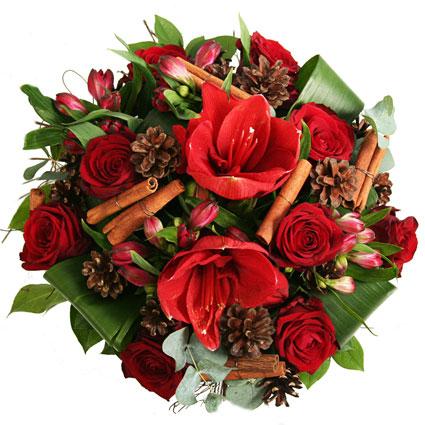 Flower Arrangement: Mulled Wine And Cinnamon