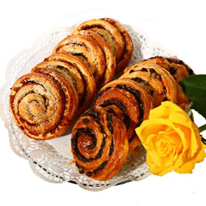 Franču maiznīcas Cadets de Gascogne gardās maizītes ar kanēli un šokolādi