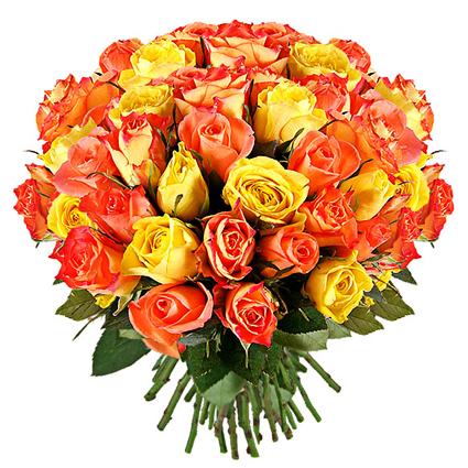 Букет роз: Золотой миг