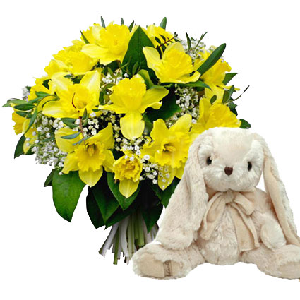 Подарочный набор: Весеннии заяц