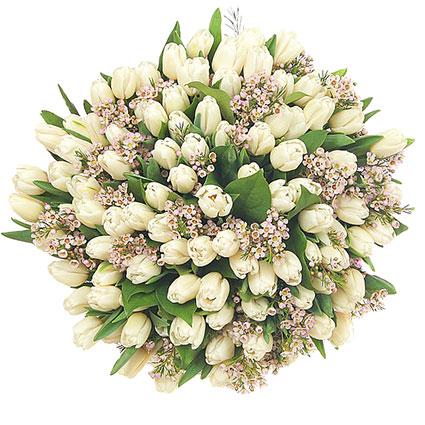 Ziedi: Tulpju apskāviens