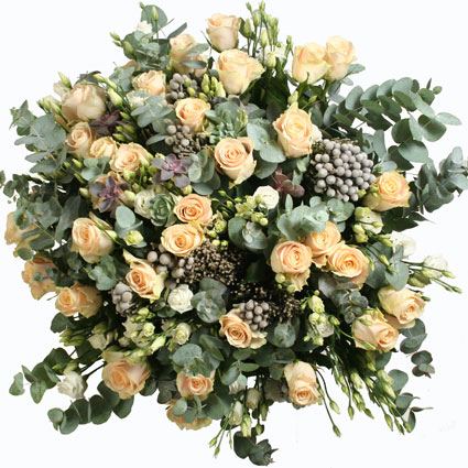 Элегантный букет роз