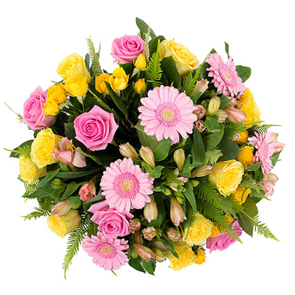 Букет цветов: Милая улыбка