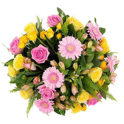 Ziedu pušķis: Jaukais smaids