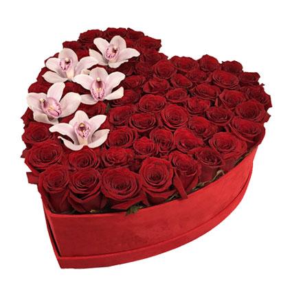 Цветочная коробка: Любовное письмо