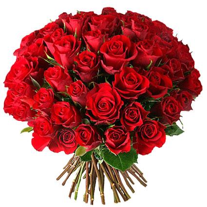 Ziedi Rīga. Rožu pušķis no 45 vai 21 sarkanām vidēja garuma rozēm.  Ziedu klāsts ir ļoti plašs. Var gadīties, ka izvēlētie