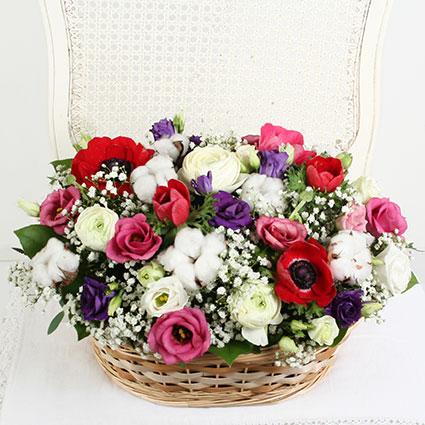 Flower Basket: Spring Is Coming