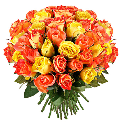 Bouquet of Roses: Golden Moment