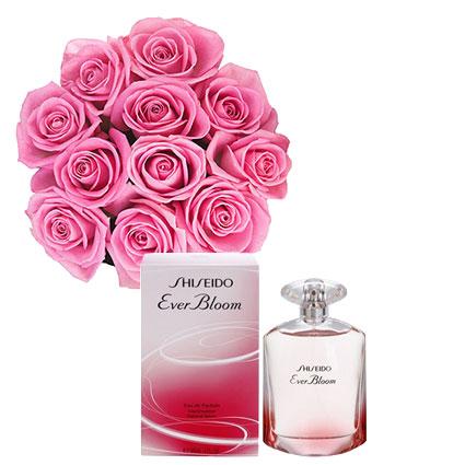 Цветы и духи SHISEIDO Ever Bloom EDP 90 мл