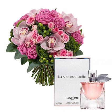 Цветы и духи LANCOME La Vie Est Belle EDP 50 мл