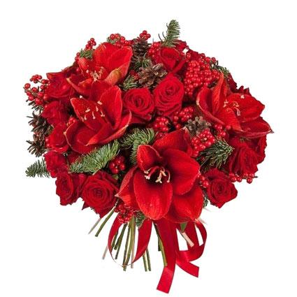 Ziedu pušķis svētkiem