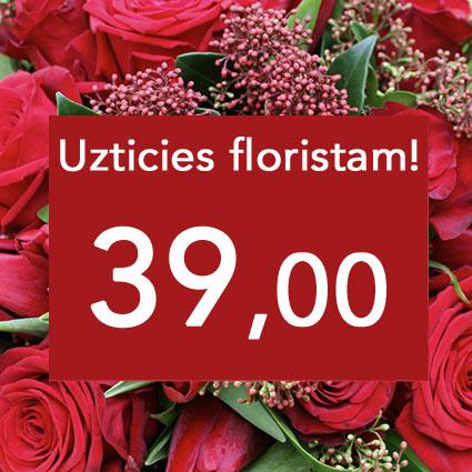 Ziedu piegāde Rīgā. Uzticies floristam! Izveidosim skaistu pušķi sārtos toņos izvēlētās summas ietvaros. Pārsteigums un