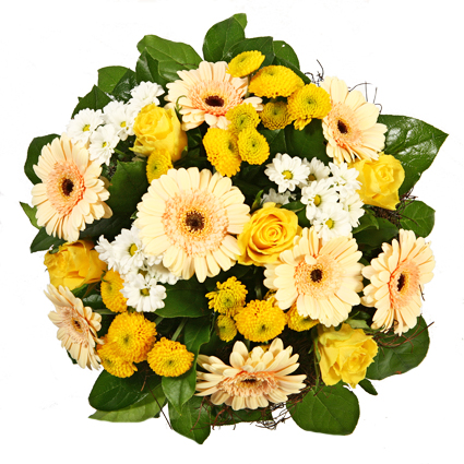 Ziedu pušķis: Prieka pilns