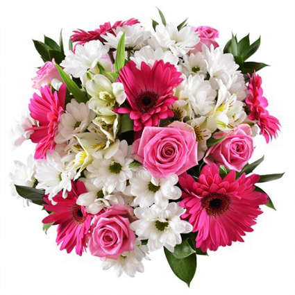 Flowers: Pink Accent