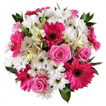 Цветы: Розовый акцент