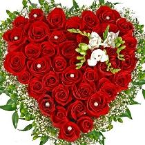 Ziedu kompozīcija: Laimīgā sirds