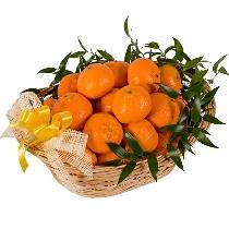 Mandarīnu grozs. Piegāde Rīgā