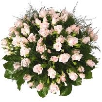 Rožu pušķis: Rozā pērle. Ziedu piegāde Rīgā