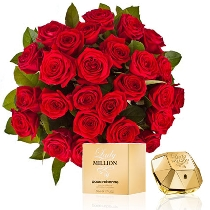 Ziedi un smaržas: Lady Million