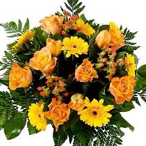 Ziedu pušķis: Dzintars acīs mirdz