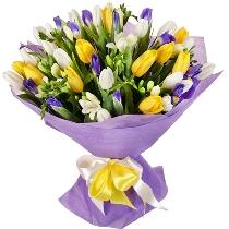 Ziedi: Krāsainie sapņi. Piegāde Rīgā
