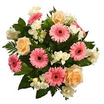 Ziedu pušķis: Pozitīvs. Ziedu piegāde Rīgā
