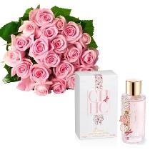Rozā rozes un smaržas Carolina Herrera CH L EAU EDT 50 ML