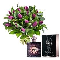 Ziedi un smaržas YVES SAINT LAURENT Black Opium Nuit Blanche EDP 50 ml