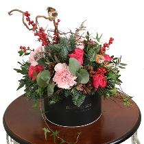 Ziedu kārba: Ziemas dārzs. Piegāde Rīgā
