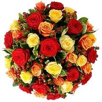 Rožu pušķis: Šī ir Tava diena!