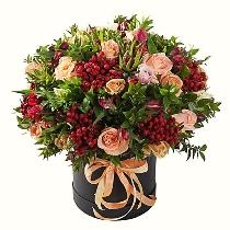 Цветочная коробка: Осенняя тема
