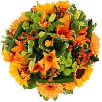 Ziedi: Vasaras plaukumā. Ziedu piegāde Rīgā