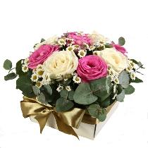 Ziedu kompozīcija: Elagantais šarms